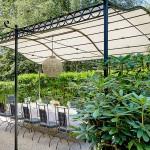 Garten vom Restaurant Buberlgut Salzburg